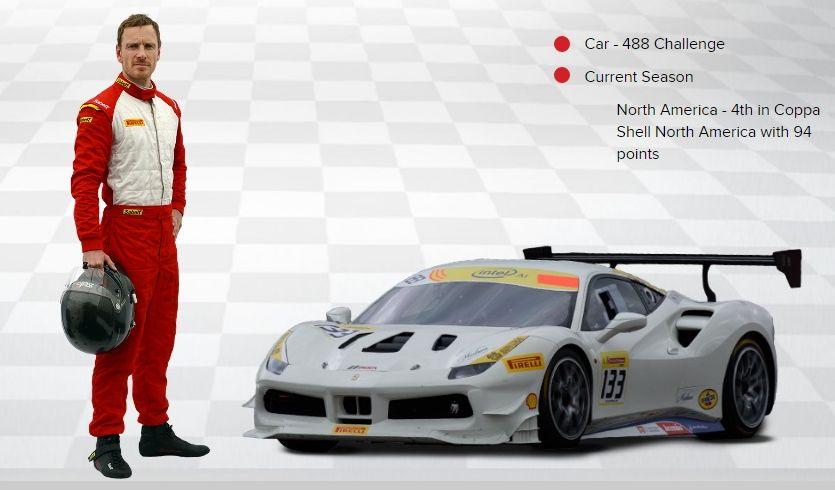 Michael Fassbender võistleb juba kolmandat aastat autosõidus