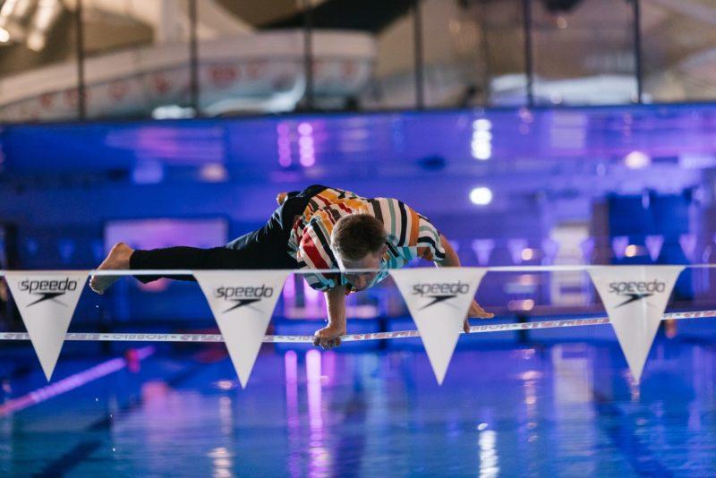 FOTOD: köietrikitaja Jaan Roose prantsatas Kalev Spa avapeol basseini!