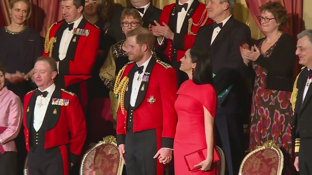 Video! Harryle ja Meghanile plaksutati Royal Albert Hallis püsti