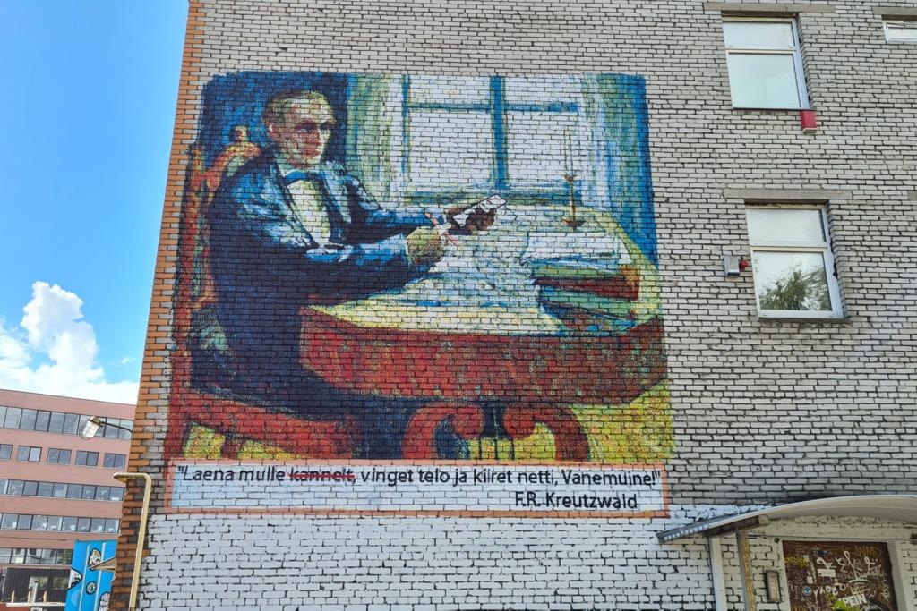 Telliskivi uus seinamaaling