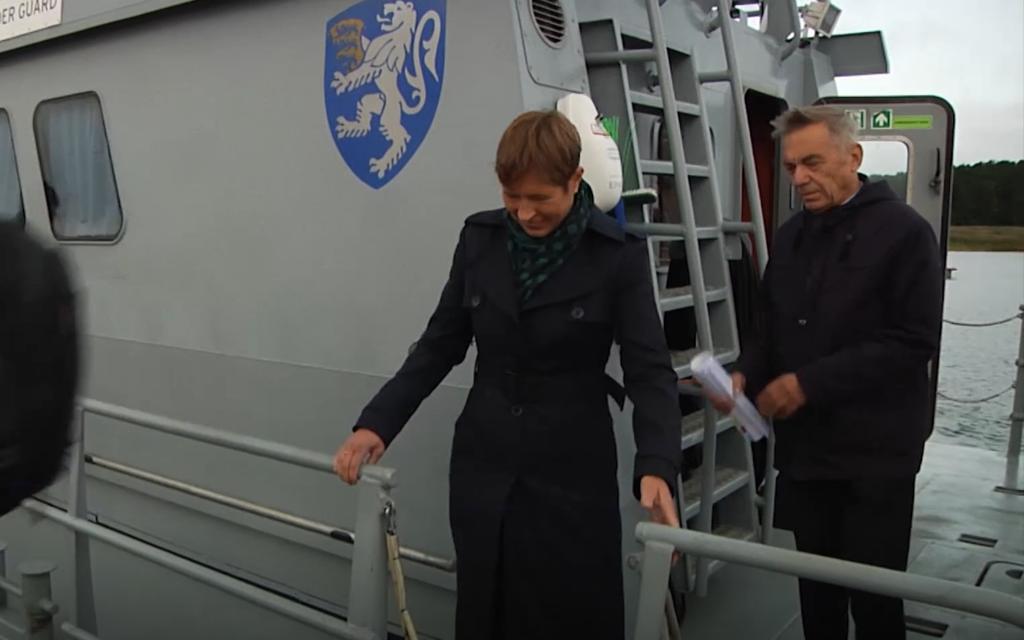 President kaljulaid kihnus.TV3