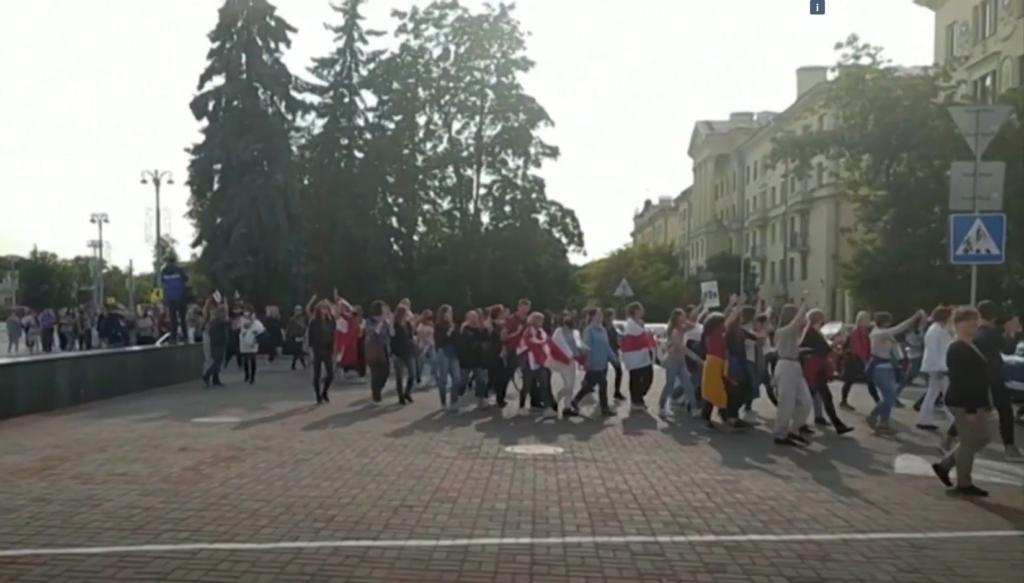 Valgevene protest.TV3