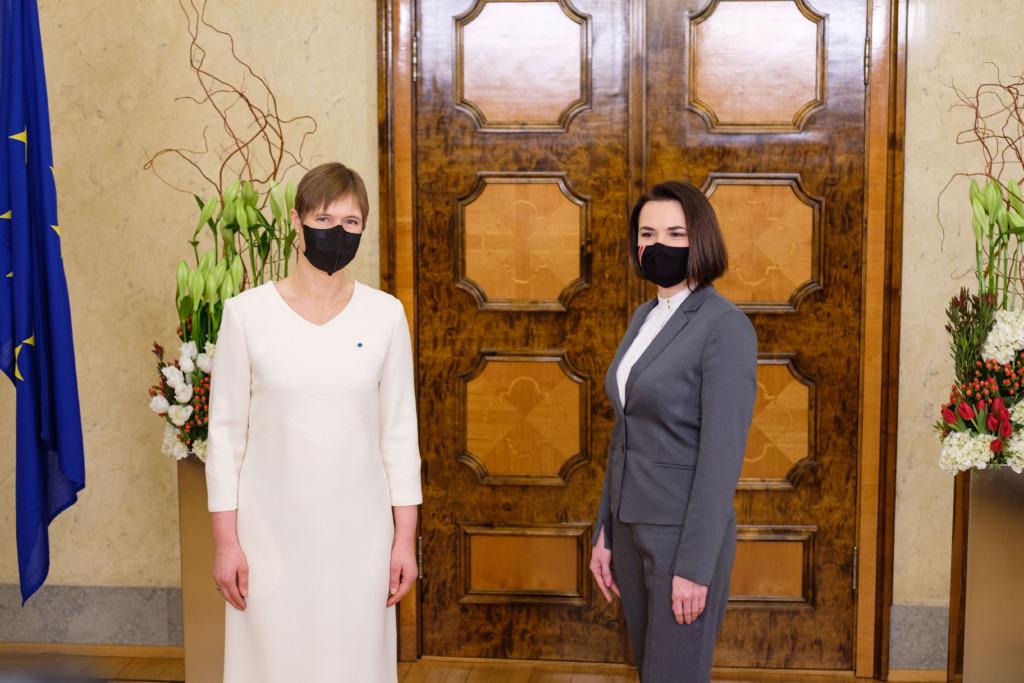 Kersti Kaljulaid ja Svjatlana Tsihhanovskaja