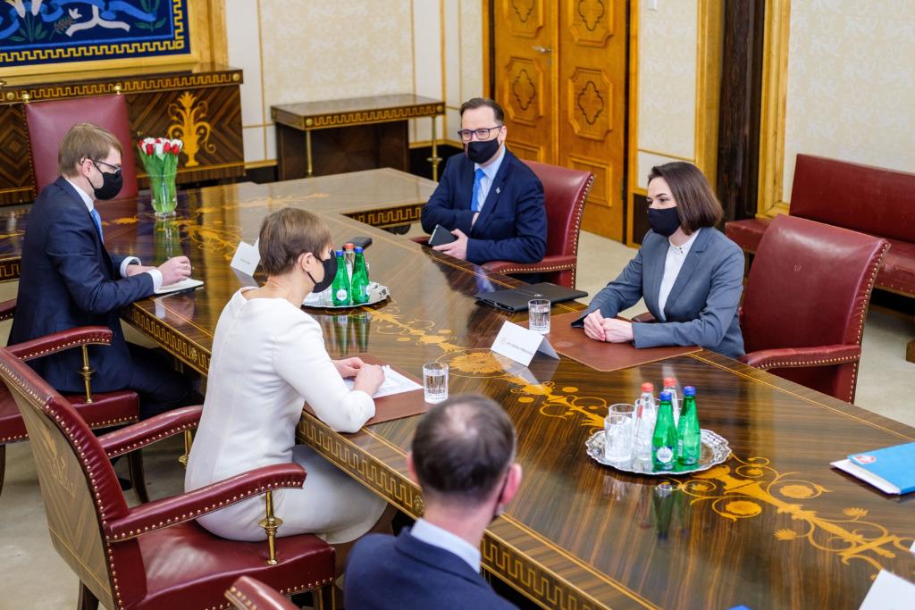 Kersti Kaljulaid ja Svjatlana Tsihhanovskaja8