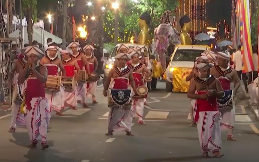 Sri Lanka elevandi festival.TV3