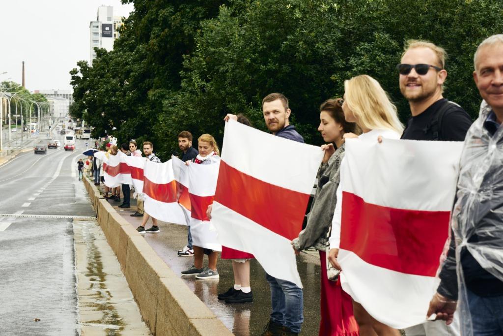 VABA VALGEVENE HEAKS I Eesti tähistab täna Valgevene solidaarsuspäeva